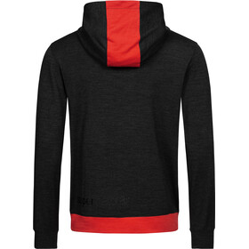 super.natural Movement Halv lynlås sweater Herrer, sort